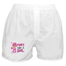 Licensed Fight Like a Girl 42.8 Boxer Shorts