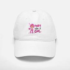 Licensed Fight Like a Girl 42.8 Baseball Baseball Cap