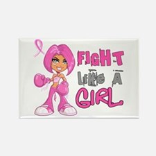 Licensed Fight Like a Girl 42.8 Rectangle Magnet