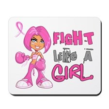 Licensed Fight Like a Girl 42.8 Mousepad