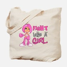 Licensed Fight Like a Girl 42.8 Tote Bag