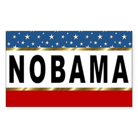 Nobama Rec 1 Sticker (Rectangle)