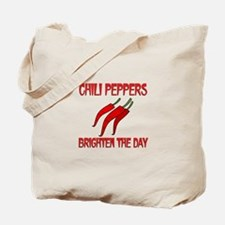 Chili Peppers Brighten Tote Bag