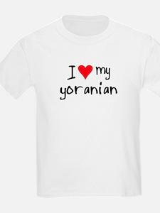 I LOVE MY Yoranian T-Shirt