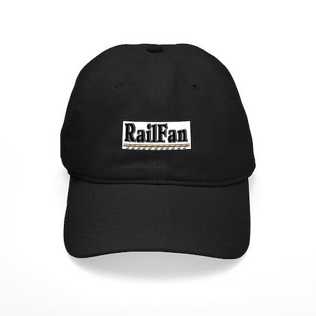Railfan Black Cap