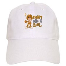 Licensed Fight Like a Girl 42.8 Appendix Cance Baseball Cap