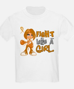 Licensed Fight Like a Girl 42.8 T-Shirt