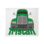 Trucker Tristan Throw Blanket
