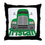 Trucker Tristan Throw Pillow