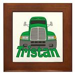 Trucker Tristan Framed Tile