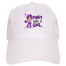Licensed Fight Like a Girl 42.8 Anorexia Baseball Cap