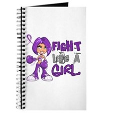Licensed Fight Like a Girl 42.8 Anorexia Journal