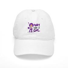 Fight Like a Girl 42.8 Alzheimer's Disease Baseball Cap