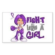 Fight Like a Girl 42.8 Alzheimer's Disease Decal