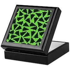 Green Xmas Trees.jpg Keepsake Box