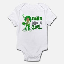 Licensed Fight Like a Girl 42.8 Ce Infant Bodysuit