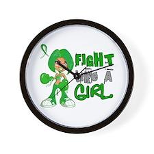 Fight Like a Girl 42.8 Cerebral Palsy Wall Clock