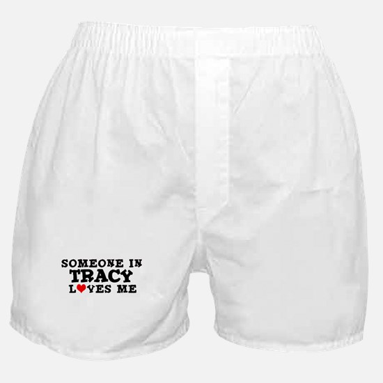 Tracy: Loves Me Boxer Shorts