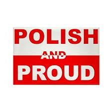 POLISH AND PROUD SHIRT TEE SH Rectangle Magnet