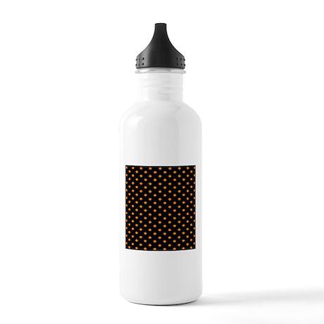Orange Dots.jpg Stainless Water Bottle 1.0L