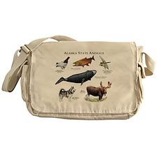 Alaska State Animals Messenger Bag