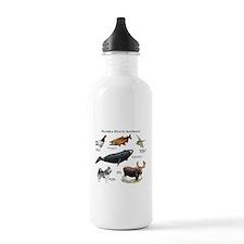 Alaska State Animals Water Bottle