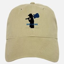 BLUES MAN - SUPPORT LIVE MUSIC Baseball Baseball Cap