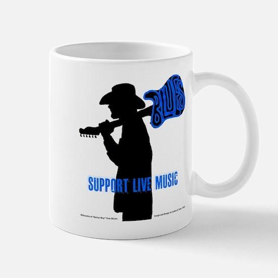 BLUES MAN - SUPPORT LIVE MUSIC Mug