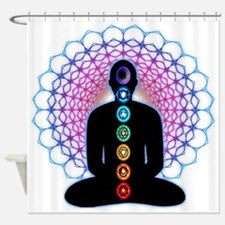 Chakras Shower Curtain