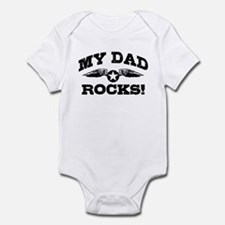 My Dad Rocks Infant Bodysuit