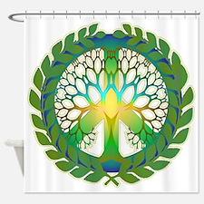 Grow Peace Shower Curtain