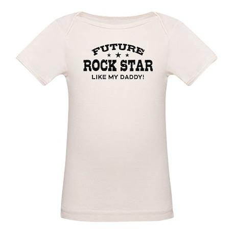 Future Rock Star Organic Baby T-Shirt