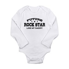 Future Rock Star Long Sleeve Infant Bodysuit