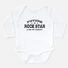 Future Rock Star Long Sleeve Infant Bodysuit