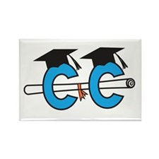 Cross Country GRAD Rectangle Magnet (100 pack)