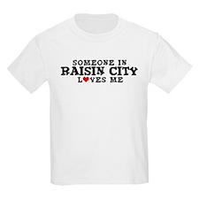 Raisin City: Loves Me Kids T-Shirt