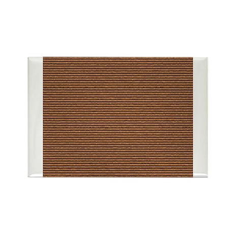 Brown Patchwork.jpg Rectangle Magnet (10 pack)