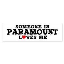 Paramount: Loves Me Bumper Bumper Sticker