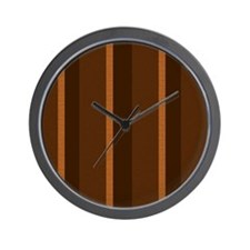 Textured Stripes.jpg Wall Clock