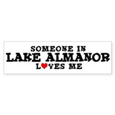 Lake Almanor: Loves Me Bumper Bumper Sticker