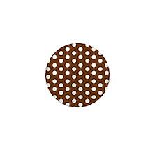 White Dots.jpg Mini Button (10 pack)