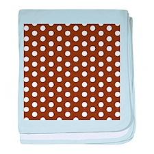 White Dots.jpg baby blanket
