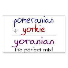 Yoranian PERFECT MIX Decal