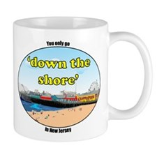 Down the shore casino pier Mug