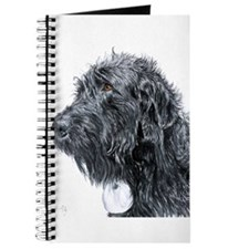 Black Labradoodle 4 Journal