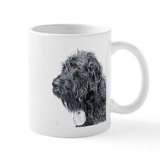 Black Labradoodle 4 Mug