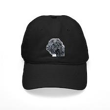 Black Labradoodle 4 Baseball Hat