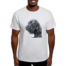 Black Labradoodle 4 T-Shirt