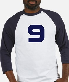 Number Nine 9 Baseball Jersey