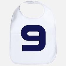 Number Nine 9 Bib